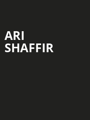 Ari Shaffir at Wilbur Theater