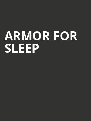 Armor for Sleep at Paradise Rock Club