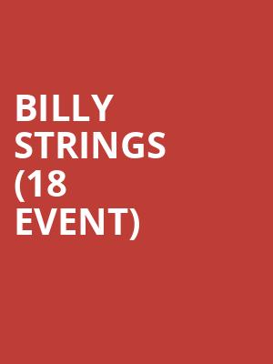 Billy Strings (18+ Event) at Royale Boston