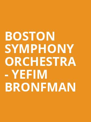 Boston Symphony Orchestra - Yefim Bronfman at Tanglewood Music Center
