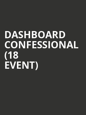 Dashboard Confessional (18+ Event) at Paradise Rock Club
