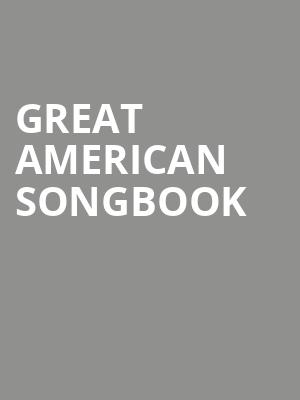 Great American Songbook at Berklee Performance Center
