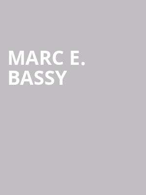 Marc E. Bassy at Brighton Music Hall