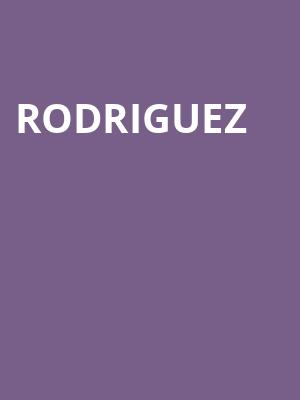Rodriguez at Wilbur Theater