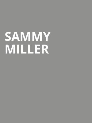 Sammy Miller at Cafe 939