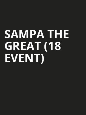 Sampa the Great (18+ Event) at The Sinclair Music Hall