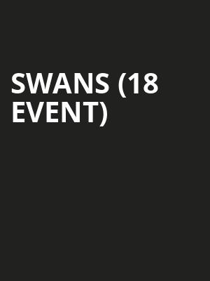 Swans (18+ Event) at Brighton Music Hall