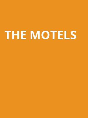 The Motels at Paradise Rock Club