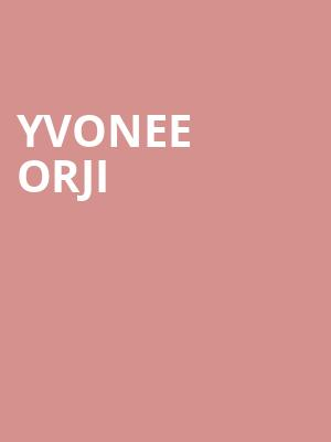 Yvonee Orji at Wilbur Theater