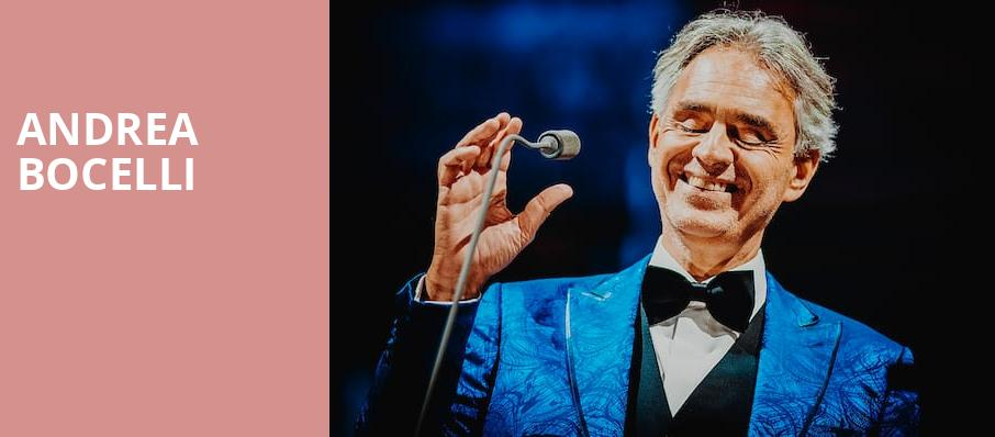 andrea bocelli on tour tickets information reviews. Black Bedroom Furniture Sets. Home Design Ideas