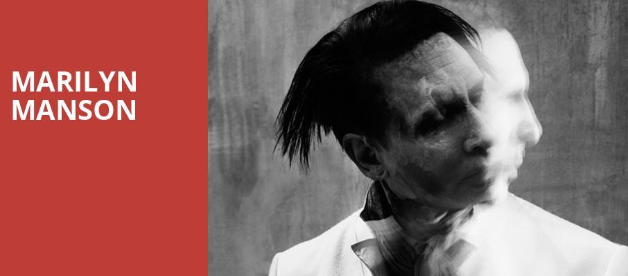 Marilyn Manson House Of Blues Boston Ma Tickets Information