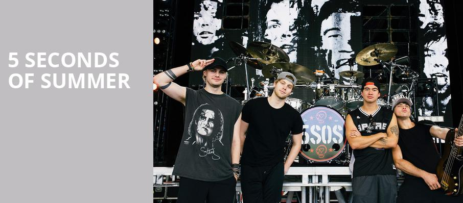 5 Seconds of Summer, Rockland Trust Bank Pavilion, Boston