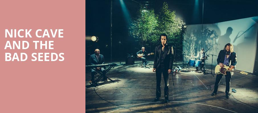 Nick Cave and The Bad Seeds, Wang Theater, Boston