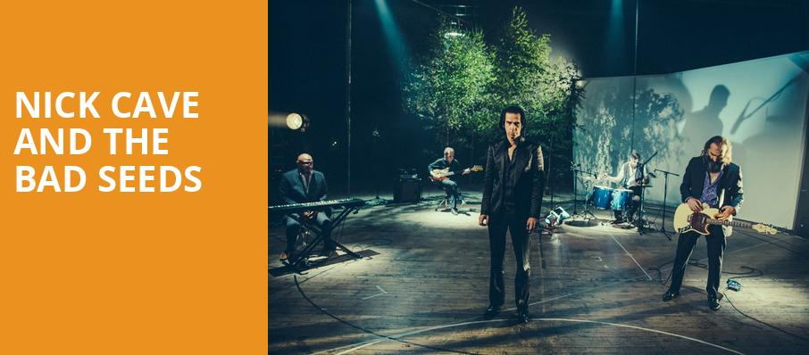 Nick Cave and The Bad Seeds, Agganis Arena, Boston