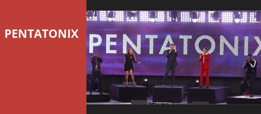Pentatonix, Wang Theater, Boston