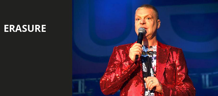 Erasure, House of Blues, Boston