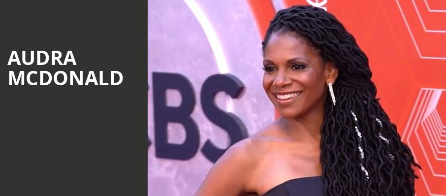 Audra McDonald, Boston Symphony Hall, Boston