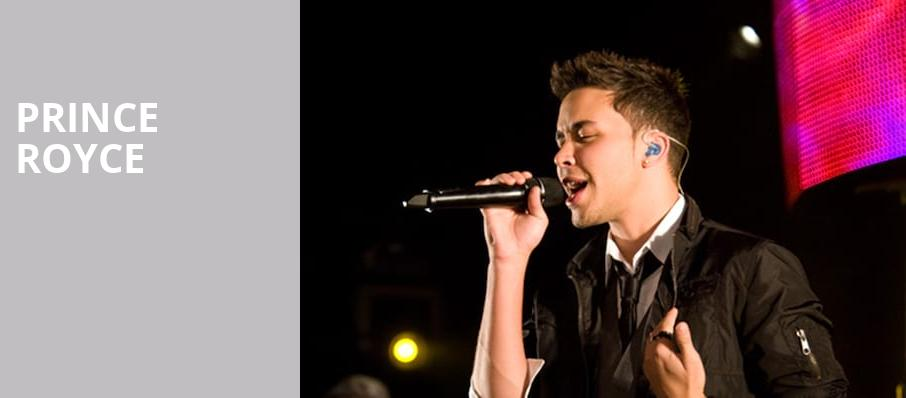 Prince Royce, House of Blues, Boston