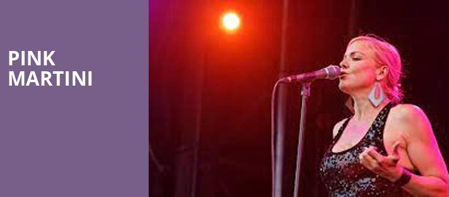 Pink Martini, Berklee Performance Center, Boston