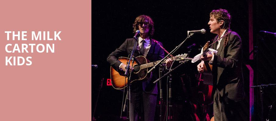 The Milk Carton Kids, Brighton Music Hall, Boston