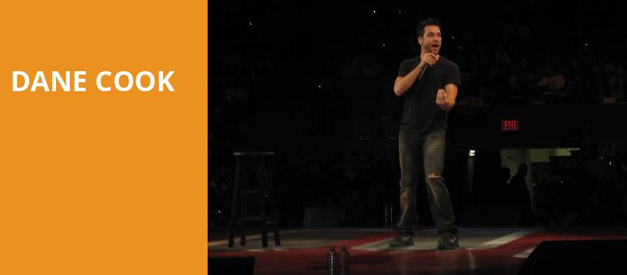 Dane Cook, Wang Theater, Boston