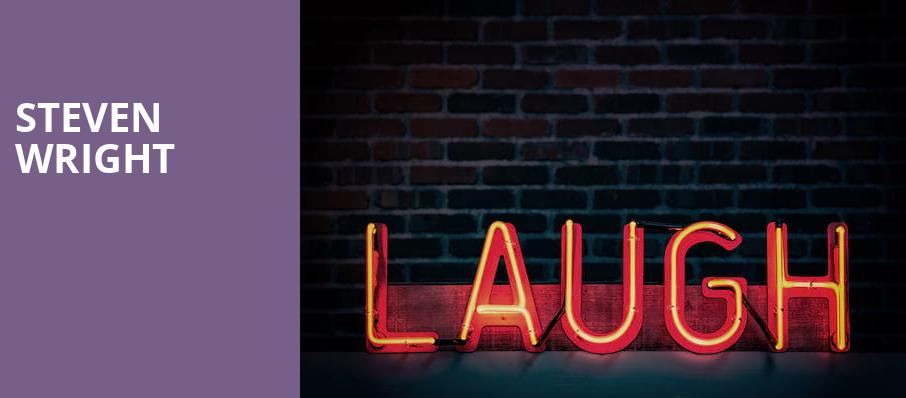 Steven Wright, Capitol Center for the Arts, Boston