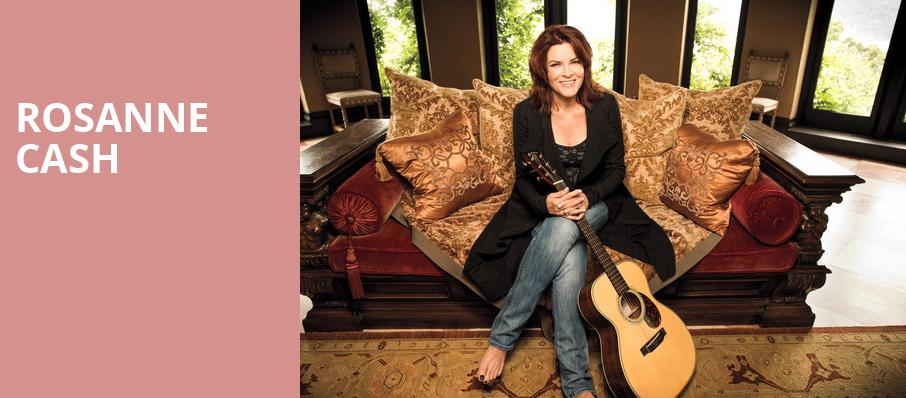 Rosanne Cash, Wang Theater, Boston