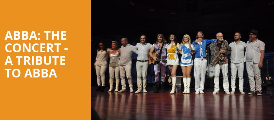 ABBA The Concert A Tribute To ABBA, Cape Cod Melody Tent, Boston