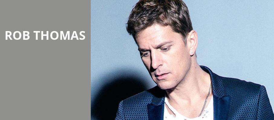 Rob Thomas, Rockland Trust Bank Pavilion, Boston