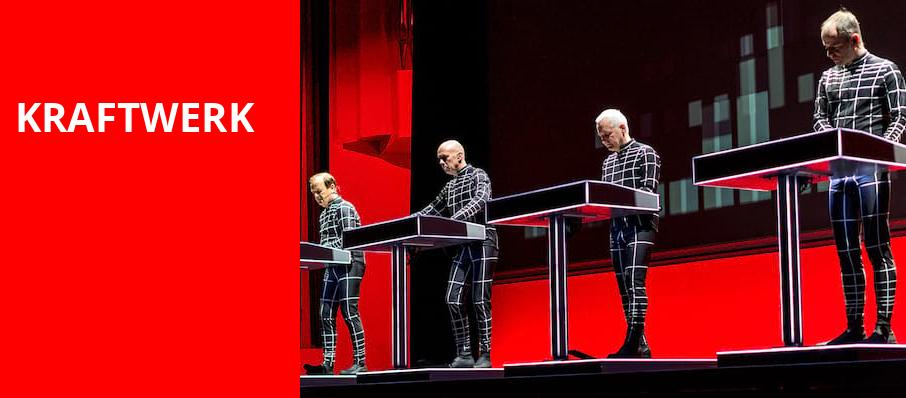 Kraftwerk, Wang Theater, Boston