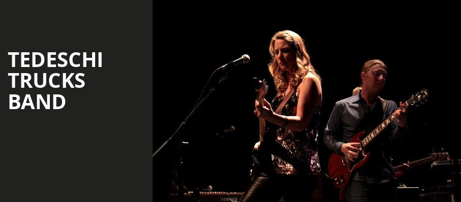 Tedeschi Trucks Band, Xfinity Center, Boston