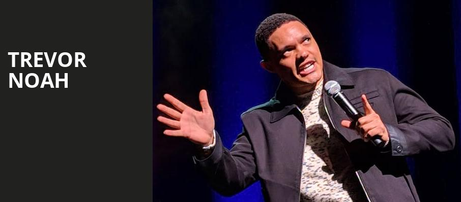 Trevor Noah, Wilbur Theater, Boston