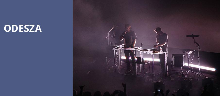 Odesza, House of Blues, Boston