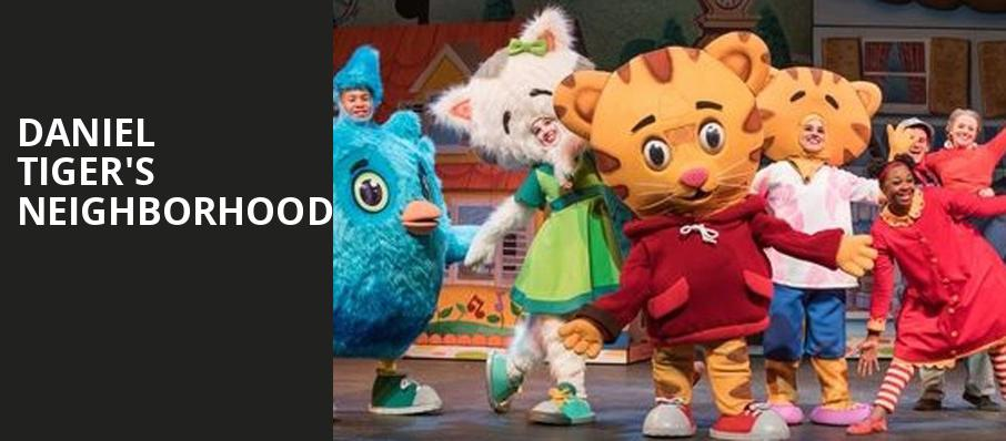 Daniel Tigers Neighborhood, Chevalier Theatre, Boston