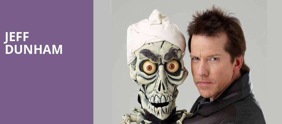 Jeff Dunham, SNHU Arena, Boston