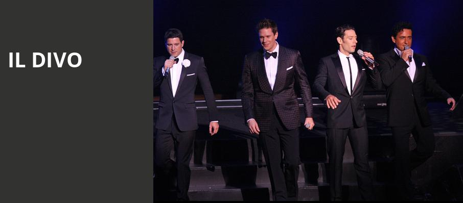 Il Divo, Orpheum Theater, Boston