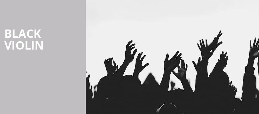 Black Violin, Chevalier Theatre, Boston