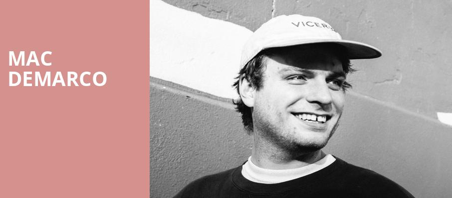 Mac DeMarco, Orpheum Theater, Boston