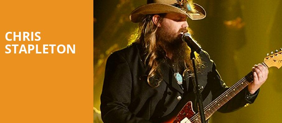 Chris Stapleton, Xfinity Center, Boston