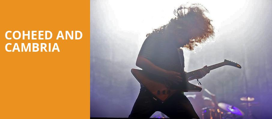 Coheed and Cambria, Blue Hills Bank Pavilion, Boston