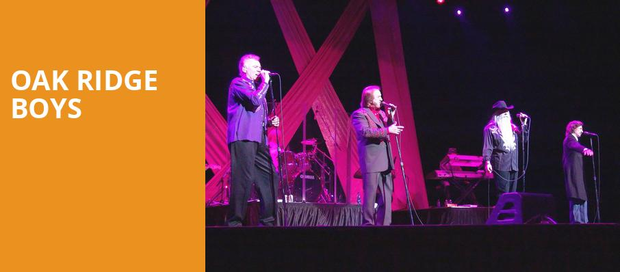 Oak Ridge Boys, Capitol Center for the Arts, Boston
