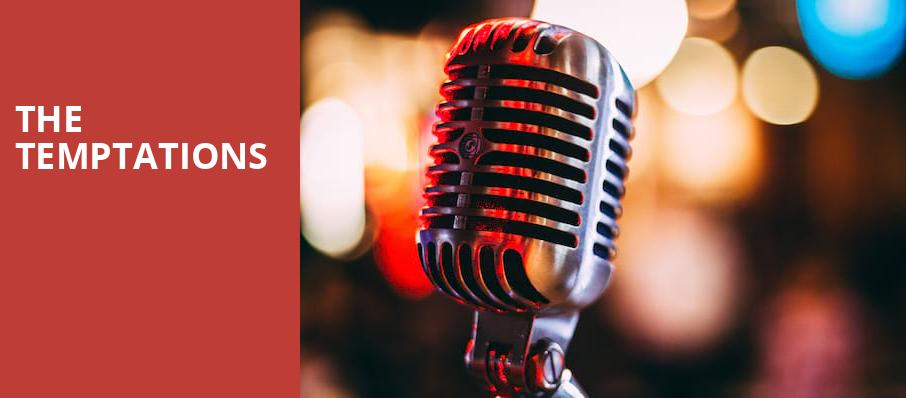 The Temptations, Chevalier Theatre, Boston