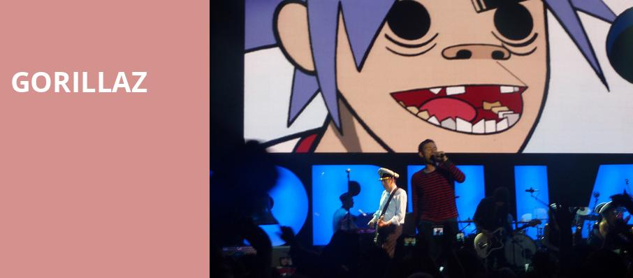 Gorillaz, Blue Hills Bank Pavilion, Boston