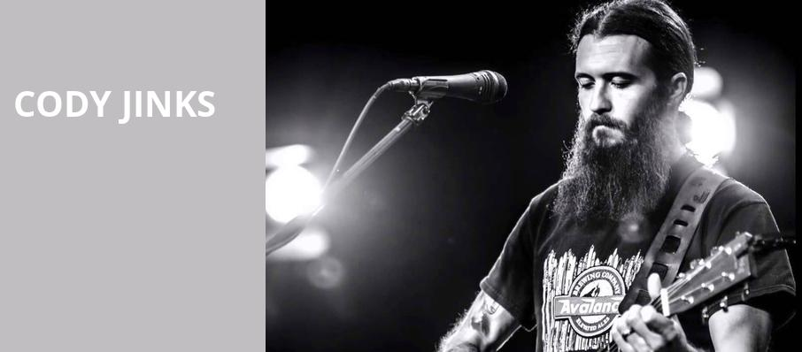 Cody Jinks, Emerson Colonial Theater, Boston