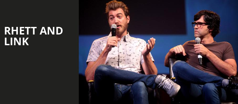 Rhett and Link, Wilbur Theater, Boston