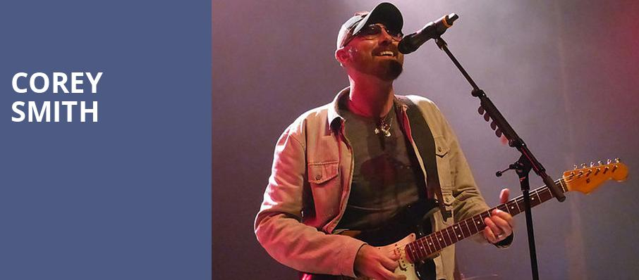 Corey Smith, The Sinclair Music Hall, Boston