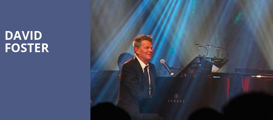 David Foster, Chevalier Theatre, Boston
