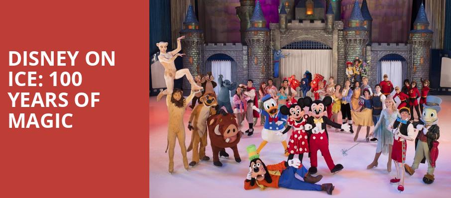 Disney on Ice 100 Years of Magic, Agganis Arena, Boston
