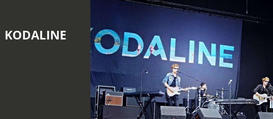 Kodaline, Paradise Rock Club, Boston