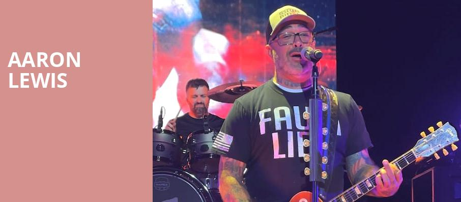 Aaron Lewis, Cape Cod Melody Tent, Boston